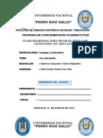 Clase Magistral - Carlos Ccc