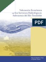 Valoración Económica de Los Servicios Hidrológicos_Guatemala 2007