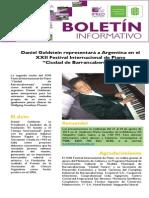 "Daniel Goldstein representará a Argentina en el XXII Festival Internacional de Piano  ""Ciudad de Barrancabermeja"""