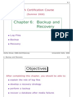 DBA Certification Course (C6)