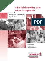 Diag de Hemofililia y Otros Trastornos de La Coagulacion