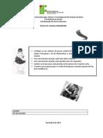 PROVA_Tecnico Integrado 2014