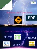 Baterías Del Carro Solar2007