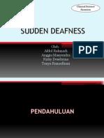 Sudden Deafness.pptx