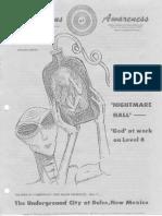 Cosmic Awareness 1990 10 Alien Ufo Tunnel Area 51 Deep Underground Military Base Delta Group Dreamland Dulce Underground Abduction