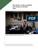 Poroshenko Dá Luz Verde a Missão Humanitária Russa Se Incluir Outros Países