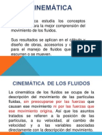 FLUIDOS CINEMATICA