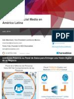 State of Social Media in Latin America Presentation 22JUL14