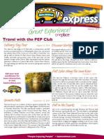 pep express summer 2014