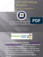 connected and social studies 082014