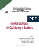 Trabajo Del Modelo Ideologico Del Socialismo y Capitalismo