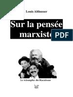 Sur la pensée marxiste