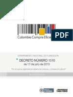 decreto 1510 2013
