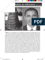 2009 Issue 5 - O Babel and Obama - Counsel of Chalcedon