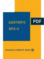 Azeotropic Data- II