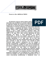 Rico Francisco - Nota Al Texto (Del Quijote)