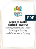 Free Etching Projects Jewelry Making eBook