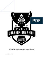 2014 World Championship Rule Setv1.00