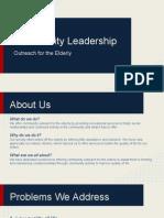 EMD350V Leadership Organization PPT
