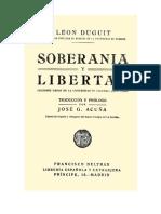 31 Livro - Soberania y Libertad - Duguit - Referencia