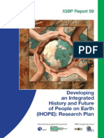 Developing an Integrated History and Future of People on Earth (IHOPE)