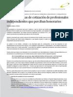 2012 01 Nuevas Normas de Cotizacion de Profesionales Independientes Que Perciban Honorarios