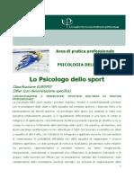 Psicologo Dello Sport