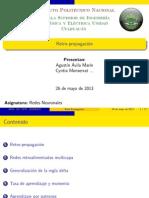 Red Neuronal Retropropagada Resumen (Back Propagation)