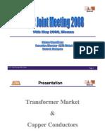 Transformer market and copper conductors