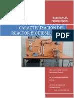 Reporte de Residencia Biodiesel2013