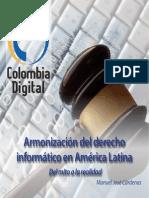 Armonizacion Derecho Nformatico