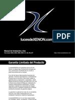 Manual de Instalacion Xenon