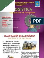 c. Clasificación de La Logística Elmer