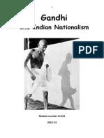 Gandhi Syllabus