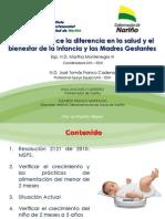 Valoracion Nutricional y Patrones de Crecimiento INT