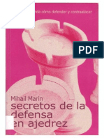 Secretos de La Defensa en Ajedrez (GM Marin)