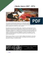 Gobierno de Benito Juárez