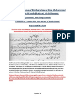 Allamah Nu'Mani and Other Deobandis on Ibn Abd Al-Wahhab and His Followers