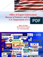 Office of Export Enforcement BIS-presentation