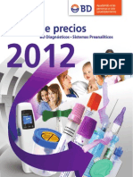 Lp Becton Vacutainer 2012