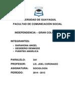 Independencia _ Gran Colombia(1)