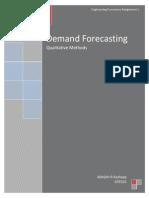 Qualitative Methods of Demand Forecasting