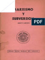 Marxismo y Subversion