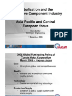 Global Competitiveness NAACAM