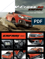 V Cross Safari Brochure