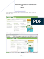 Manual Para Desativação de Reclamações No Site Reclame Aqui