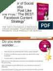 Top 5 Facebook Strategies