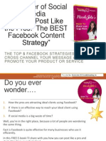 Top 5 Facebook Strategies