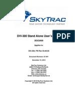 Dvi-300 s User's Guide (Doc0499) r01-001