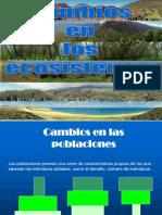 . Cambios en Los Ecosistemas.cuarTO FRAN